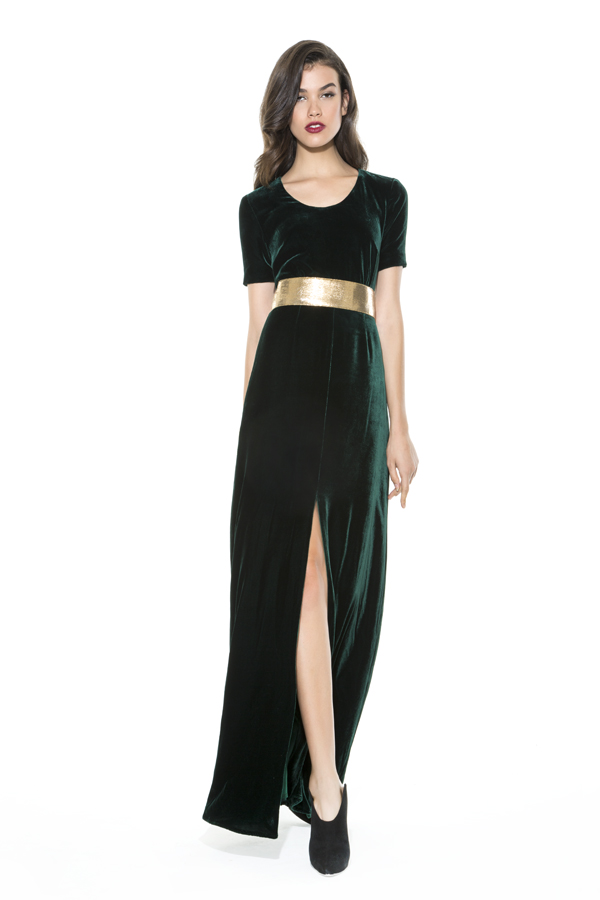 SCOOP T SHIRT GOWN - DEE HUTTON